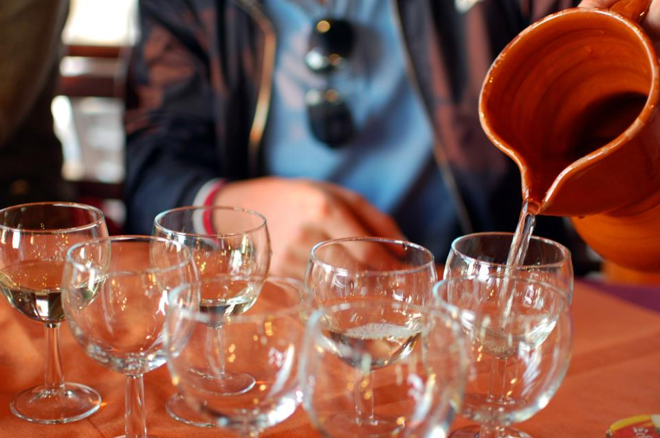 Пьем вино на Канарах