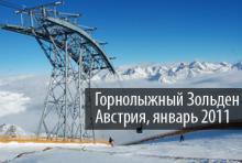 Австрия, Зольден, Solden, отдых на горных лыжах