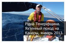 На яхте по Атлантике, Канарские острова